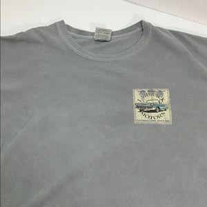 Drop your top laid back motors car shirt #T61